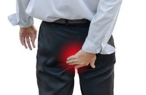 douleur aux fesses rectistopus