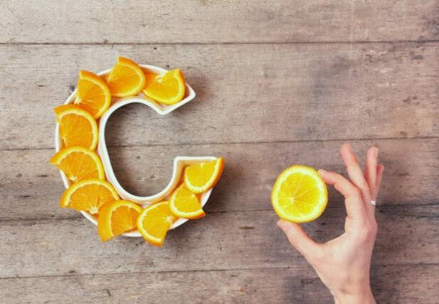 orange, vitamine C