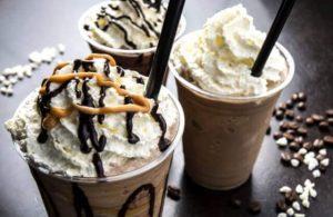 café avec de la crème