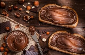 tranches, chocolat liquide