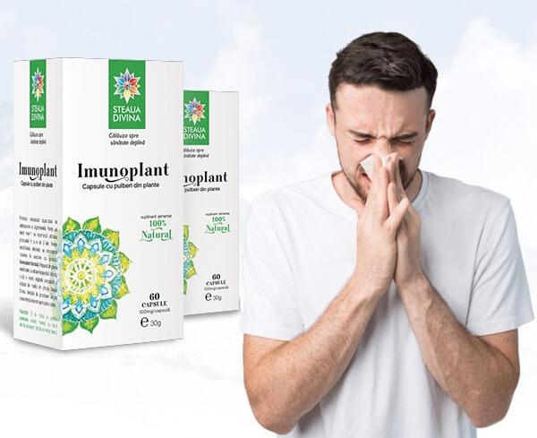 comprimés immunoplant, immunité, protection anti-grippe, mâle, grippe