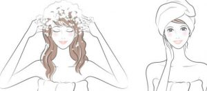 mode d'emploi du shampoing