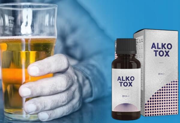 Gouttes d'Alkotox, dépendance