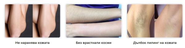 épilation, masque capillaire