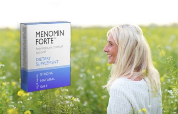 gélules menomin forte, femme, ménopause