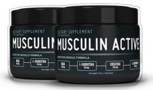 Emballage actif de musculine