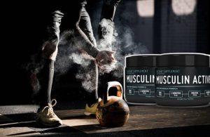 Musculin Active, un homme dans la salle de sport