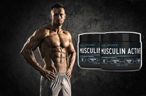 Musculin Active, un homme musclé