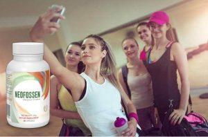 Neofossen, les filles après la gym prennent des selfies