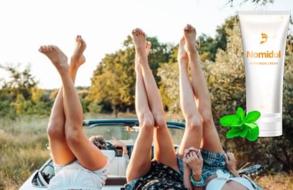 Nomidol, jambes féminines