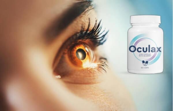 capsules d'oculax pour les yeux et la vision