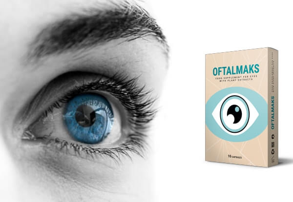 capsules oftalmaks, vision, yeux