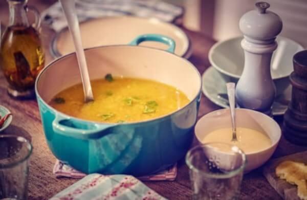 régime, soupe au poulet, soupe aux choux