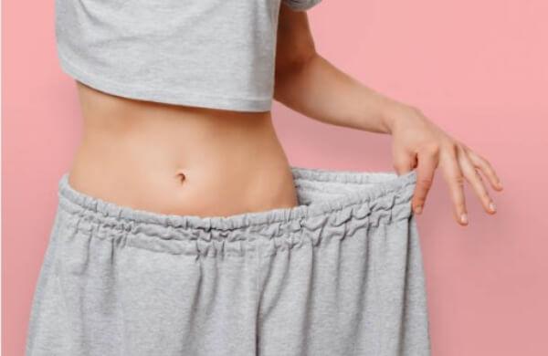 fille, perte de poids, régime