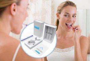 Oral Care Pro, une femme se brosse les dents