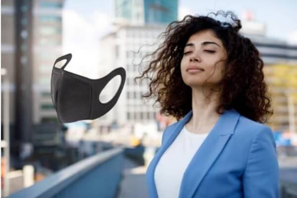 Masque OxyBrit Pro, femme