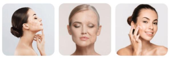 rajeunissement de la peau du visage
