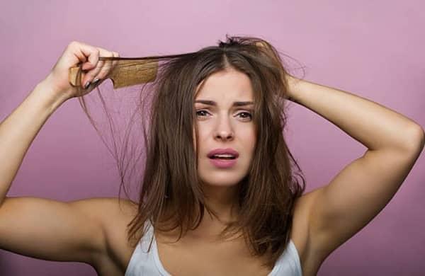Princess Hair, une femme aux cheveux ébouriffés