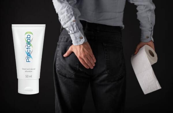 hémorroïdes, crème proctolab, homme, papier toilette