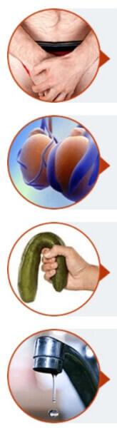 prostate, miction, dysfonction érectile
