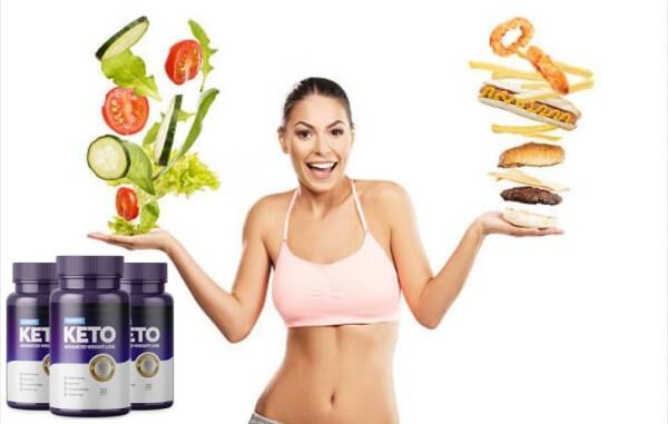PureFit KETO, femme, légumes, aliments nocifs