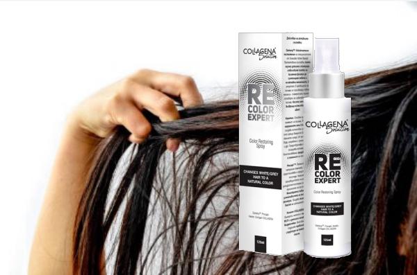 cheveux teints, spray RECOLOR EXPERT COLLAGEN Solution