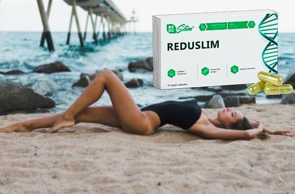 prix reduslim, femme sur la plage