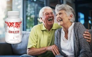 Rémi Bloston, un couple de personnes âgées
