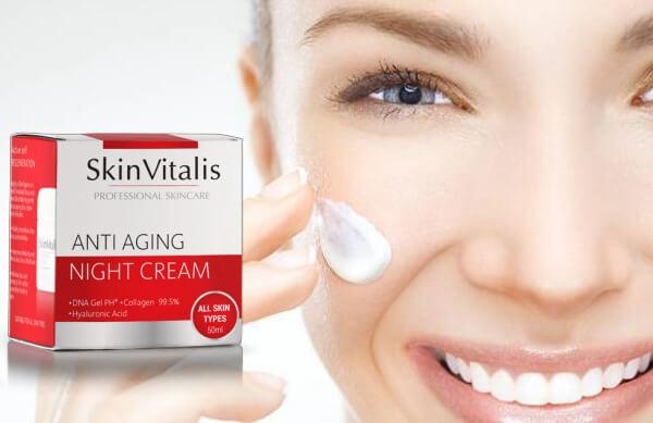 skin vitalis, crème pour le visage