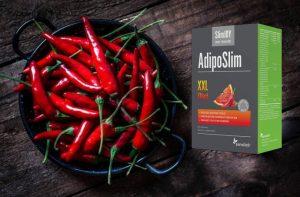 Emballage Slimjoy Adiposlim et piments forts