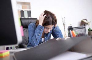 stress, chute de cheveux