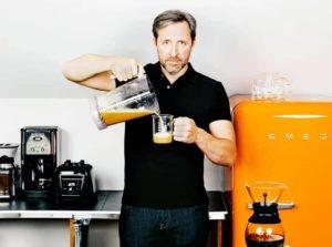 Dave Aspray, café, réfrigérateur