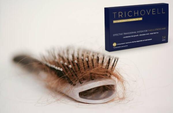 Trichovel, chute de cheveux, brosse