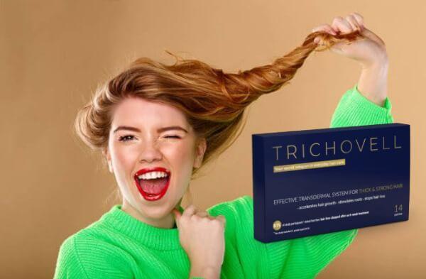 autocollants pour cheveux, trichovell