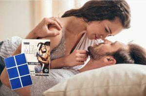 Patchs Turbo Max Blue, un couple au lit