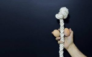 oeufs et corde