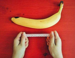 banane et centimètre