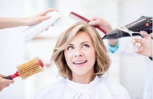 femme, appareils de coiffure