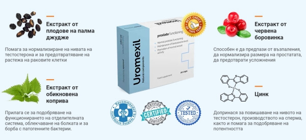 ingrédients d'uromexil
