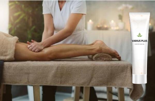 Crème Varius Plus, massage, pieds