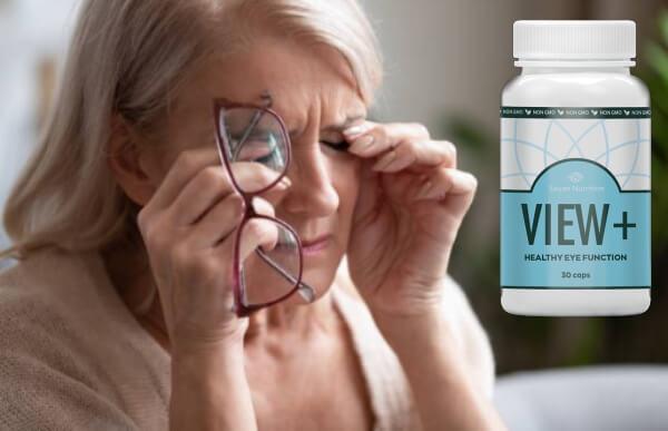 Voir les capsules Plus, femme, douleur oculaire