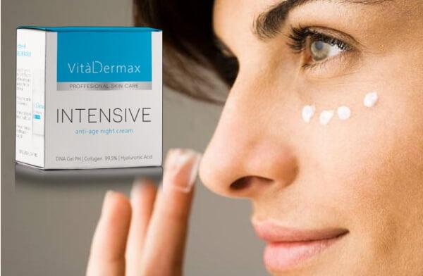 crème pour le visage vitaldermax