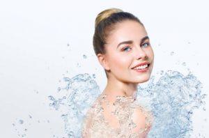 La femme et l'eau