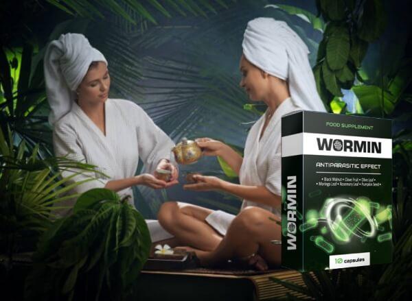 capsules de désintoxication, wormine, femmes