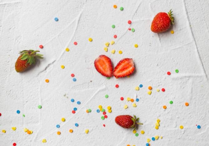 fraises, détox du sucre